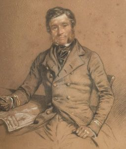 admiral george richards cb, commander of hms assistance in sir edward belcher's expedition of 1852/3/4 in search of hms erebus and hms terror of sir john franklins lost expedition of 1845.