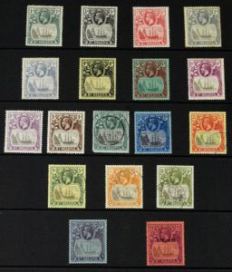 a collection of st.helena stamps