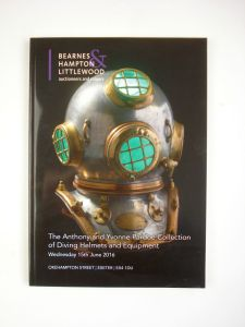 the antony & yvonne pardoe collection of diving helmets & equipment