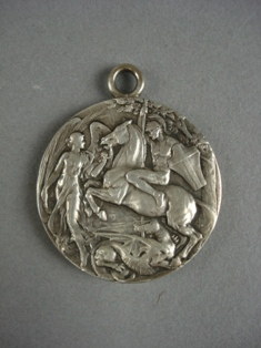 london 1908 olympic silver medal reverse