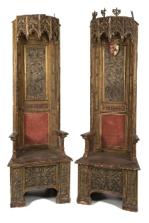 a pair of 16th century italian thrones (fs22/974)