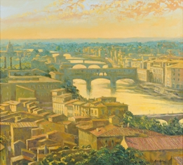 alan cotton - atmospheric view over florence (fs19/289)