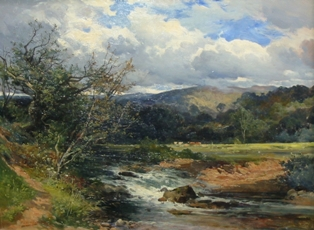 frederick john widgery - the upper exe - estimate £300-£500