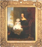 portrait of mrs spiers and her son richard, by john bridges, to be sold 23 april 2009