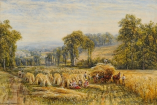 edmund george warren - hay making (fs19/256)
