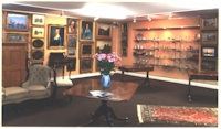 Upper Saleroom at Okehampton Street in Exeter (Devon)