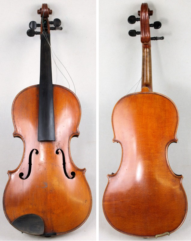 a 19th century french violin (sc16/814)