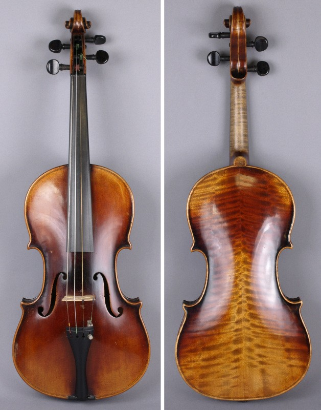 a copy of a stradivarius violin (sc16/816)