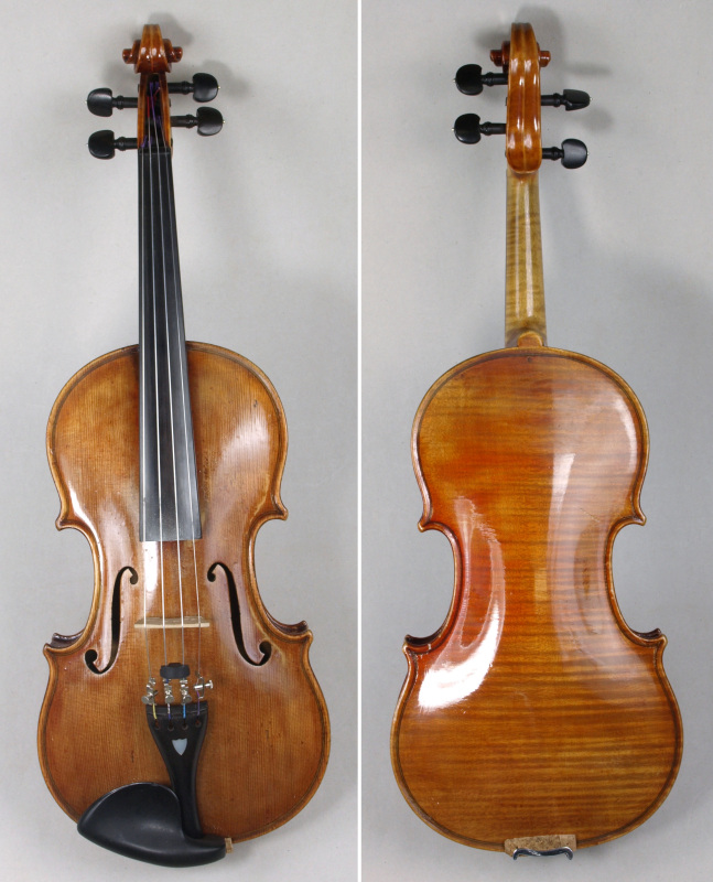 a violin by johann glass (sc16/819)