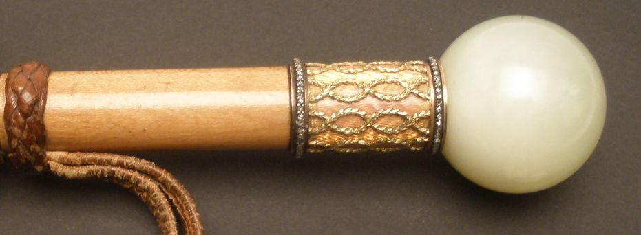 handle of umbrella by faberge