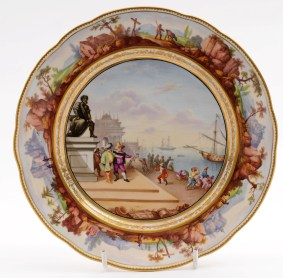 a bloor derby plate after claude lorrain