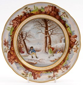a bloor derby 'snowballing' plate after a nantgraw prototype