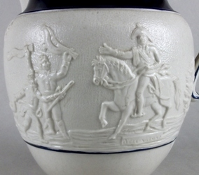 detail-of-a-staffordshire-saltglazed-peninsular-war-jug-wellington-being-cheered-by-victorious-soldiers