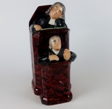 staffordshire pottery - vicar-and-moses-group