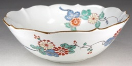 a chantilly porcelain bowl circa 1740-50