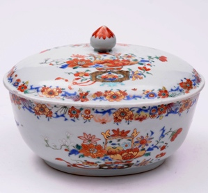 a chinese porcelain famille rose tureen and cover, qianlong 1736-96