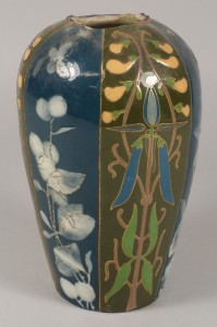 a wedgwood pate sur pate decorated vase, is this by a young frederick rhead