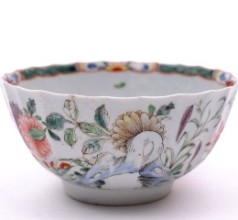 a worcester porcelain bowl circa 1755 in the chinese manner