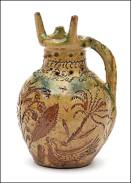 a donyatt puzzle jug from somerset