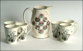 wedgwood ravilious 'garden implements' pattern.