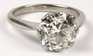a single stone diamond ring (fs19/167a)