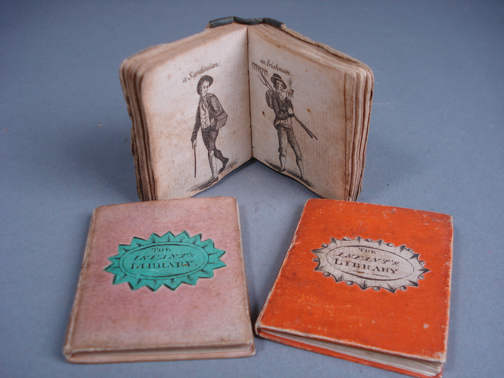 three miniature books in the antiquarian book auction to be held on 21st august 2013