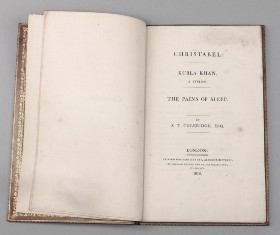 samuel taylor coleridge lots for auction kulba khan opium fuelled poem
