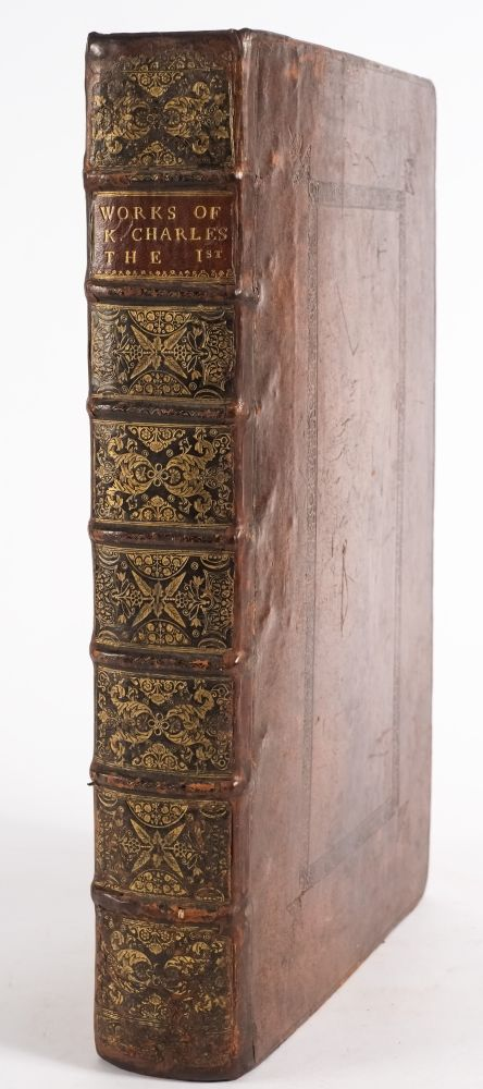 'the works of king charles the martyr' published in london 1637 (bk18/268)