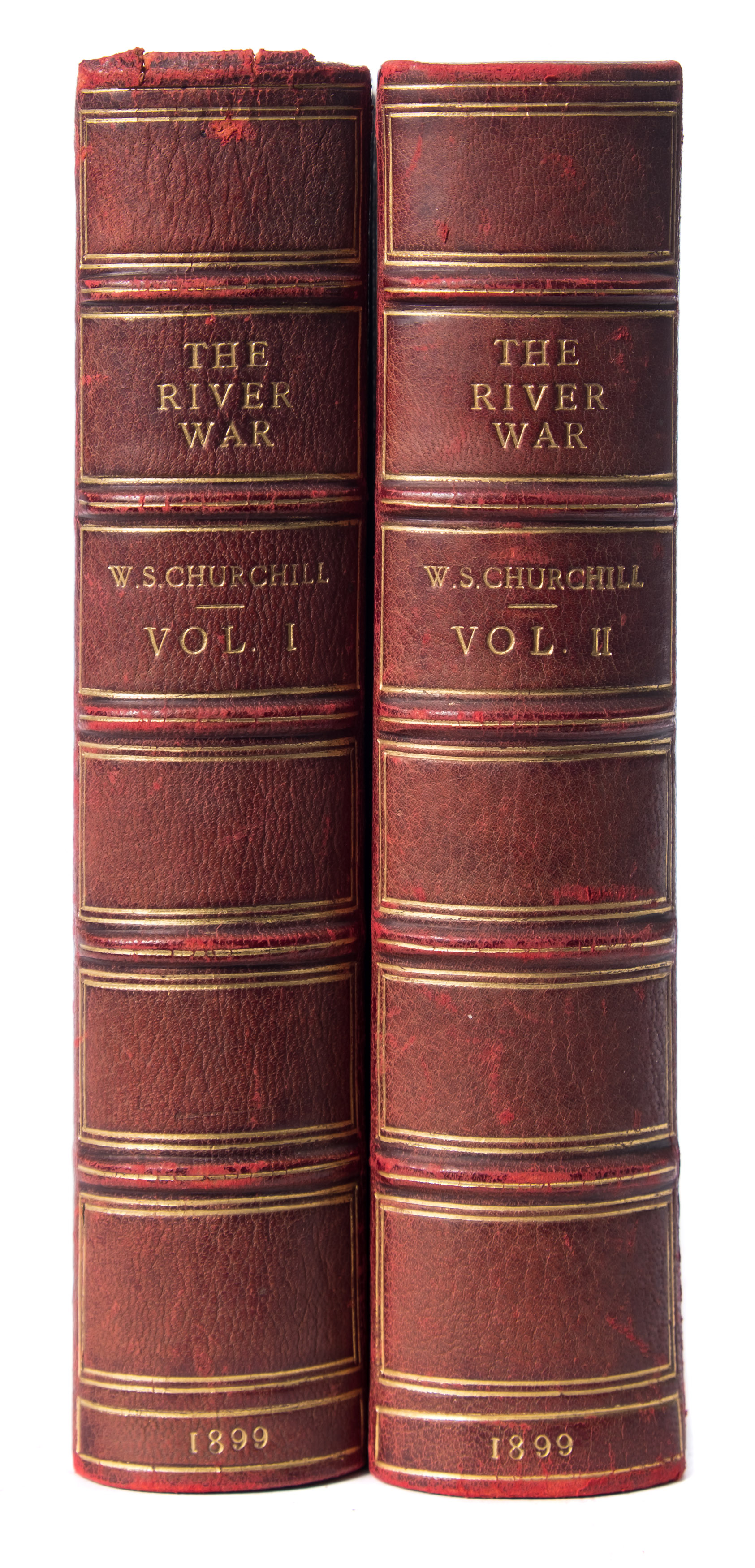 the river war by sir winston churchill (bk19/328)