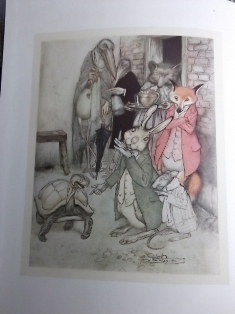 aesops fables illustrated by arthur rackham