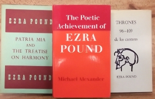 a selection from over 70 ezra pound volumes